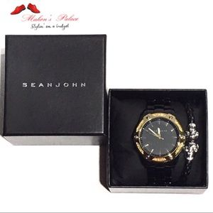 Sean John Men's Watch & Bracelet Set